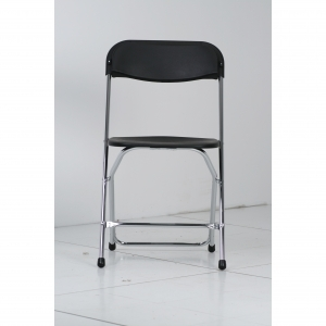 P.S. EventXpress Chairs - Black Seat/Back/Frame/Feet