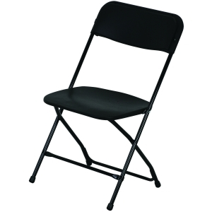 P.S. EventXpress Chairs - LRG Black Seat/Back/Frame/Feet