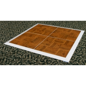 P.S. 12x16 EventXpress Dance Floor - Wood Grain Vinyl