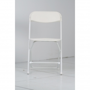 P.S. EventXpress Chairs - Rust Guard White  Seat/Back/Frame/Feet