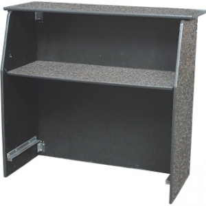 Portable bar, 48 in wide, laminate