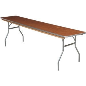 conference table, 6 ft x 18 in