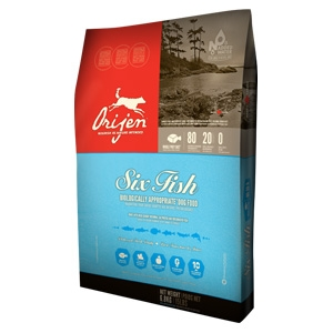 Orijen Six Fish Dog Food 28.6lb