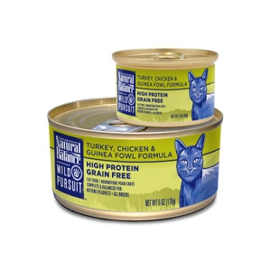 Wild Pursuit Turkey, Chicken & Guinea Fowl Canned Cat Formula
