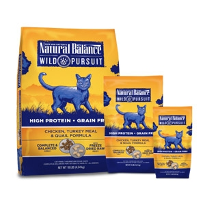 Wild Pursuit™ Chicken, Turkey Meal & Quail Dry Cat Formula
