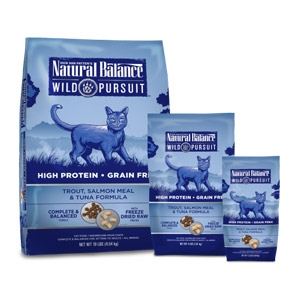 Wild Pursuit™ Trout, Salmon Meal & Tuna Dry Cat Formula