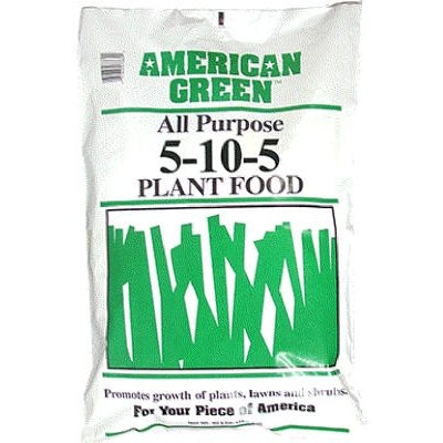 40 lbs. American Green All-Purpose Plant Food,  5-10-5