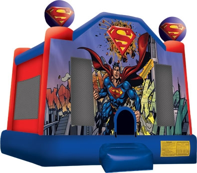 Superman 15 x 15 Bounce House