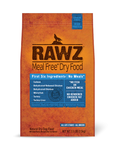 Rawz Salmon Dry Dog Food