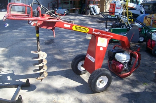 Auger, 11hp Towable Gas