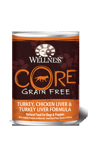 CORE® Grain-Free Turkey, Chicken Liver & Turkey Liver Formula