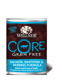 CORE® Grain-Free Salmon, Whitefish & Herring Formula