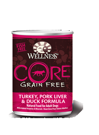 CORE® Grain-Free Turkey, Pork Liver & Duck Formula