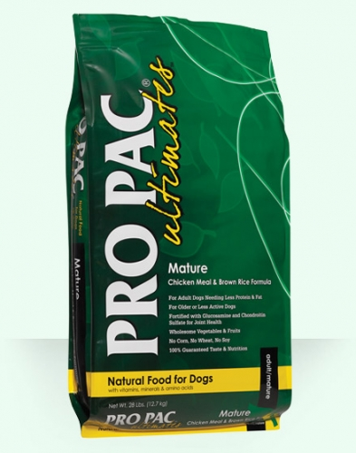 PRO PAC® Ultimates™ Mature Chicken Meal & Brown Rice Formula
