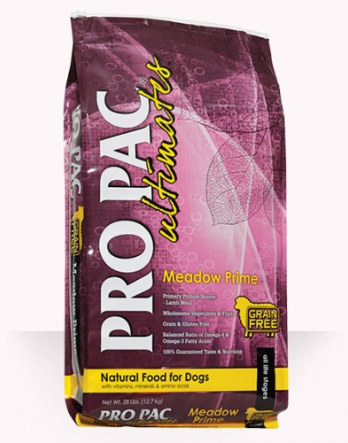 PRO PAC® Ultimates™ Meadow Prime™ Dog Food