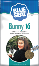 Blue Seal® Bunny 16 Pellets