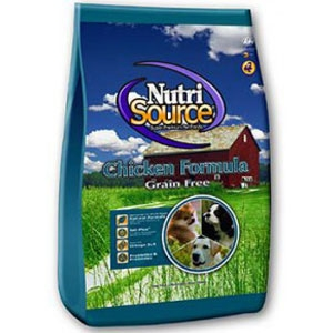 NutriSource Grain-Free Chicken Formula Dog Food