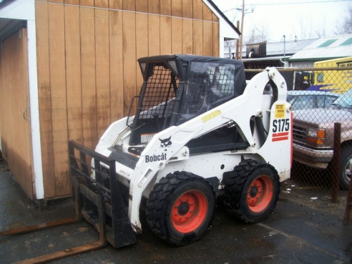 Skid Steer Loader-Bobcat S185