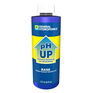 General Hydroponics pH Up Base-8oz