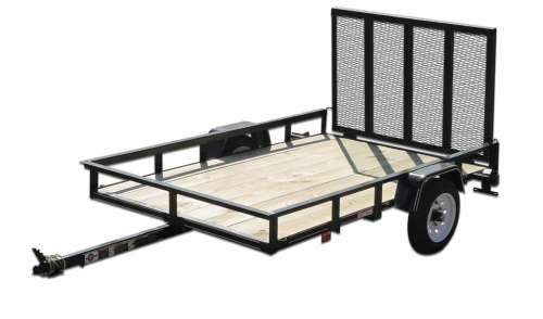 4′ x 4′ Equipment Trailer