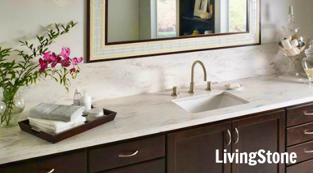 livingstone bathroom vanity top image