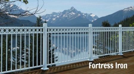 fortress deck railing image