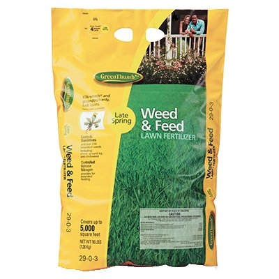 Green Thumb Step 2 Weed & Feed Lawn Fertilizer, 29-0-3