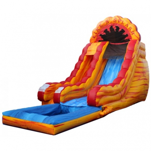 Fire N Splash 18' Slide