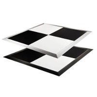 Black & White Indoor & Outdoor Portable Dance Floor