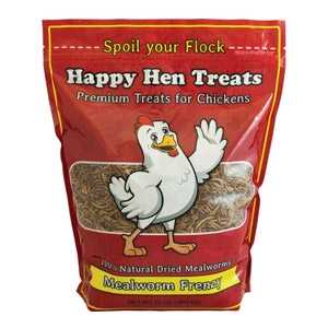 Happy Hen® Mealworm Frenzy Premium Treats for Chickens