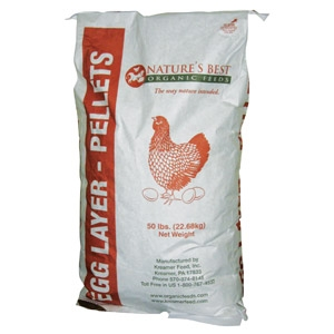 Nature's Best Organic 16% Egg Layer Pellet