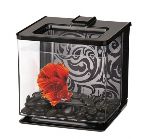 Marina Betta EZ Care Aquarium - Black