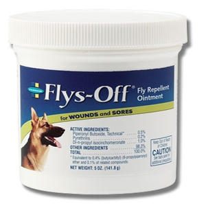 Flys-Off® Fly Repellent Ointment for Wounds and Sores