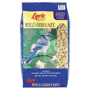 Lyric Wild Bird Food Mix, 20 lbs.