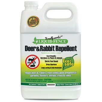 Liquid Fence® Deer and Rabbit Repellent 1 gal. Concentrate