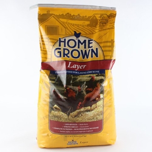 Home Grown 16% Layer Pellets for Poultry 50#