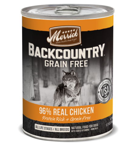 Merrick Backcountry - 96% Real Chicken