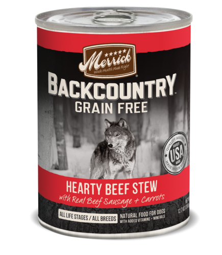 Merrick Backcountry - Hearty Beef Stew