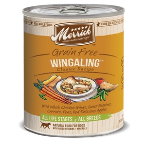 Merrick Wingaling Canned Dog Food