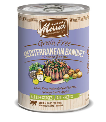 Merrick Mediterranean Banquet Canned Dog Food