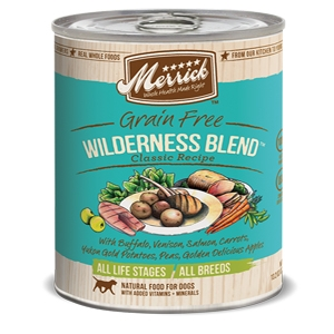 Merrick Wilderness Blend Canned Dog Food