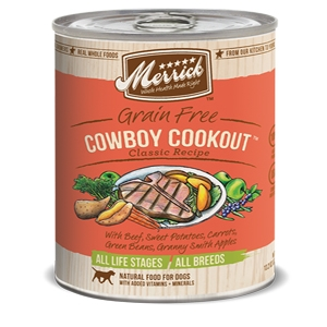 Merrick Cowboy Comfort Canned Dog Food
