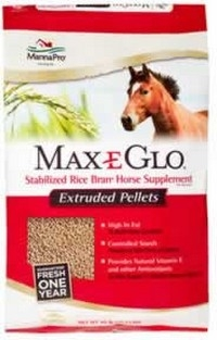 Max E Glo Pelletized Rice Bran 40 lb.