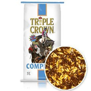 Triple Crown Complete Horse Feed 50lb