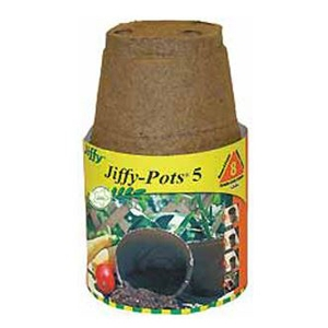 Ferry Morse Jiffy Round Pot Liner Set of 8