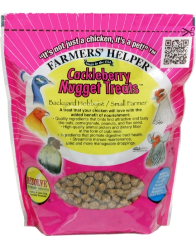 Farmers' Helper Cackleberry Nugget Treats 1.68 lbs.