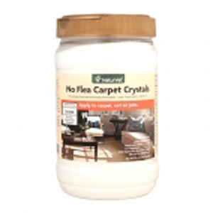 NaturVet No Flea Carpet Crystal Powder