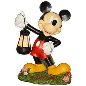 Mickey Mouse Solar Statue