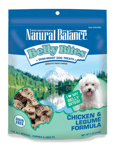 Natural Balance Belly Bites Chicken & Legume Formula