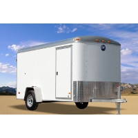 Wells Cargo 6 X 12 Enclosed Trailer